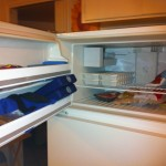 After pic of freezer, 2013 Great Summer Purge and Clean, HomeschoolRealm.com