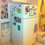 After pic of fridge, 2013 Great Summer Purge and Clean, HomeschoolRealm.com