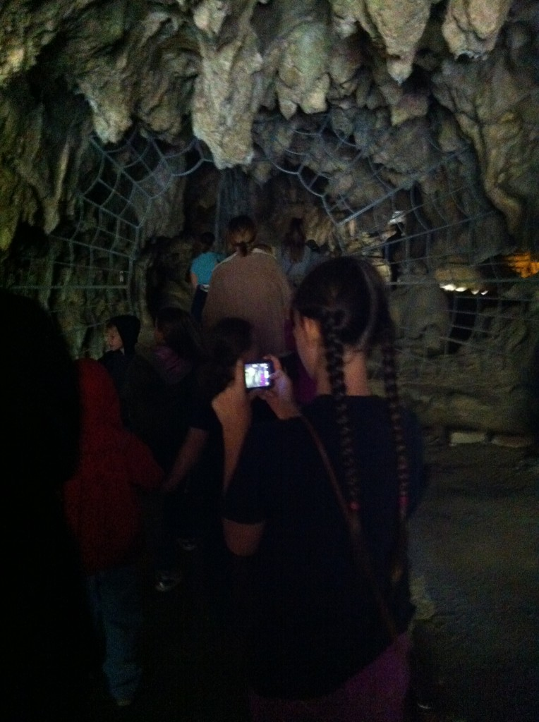 Entering Crystal Cave