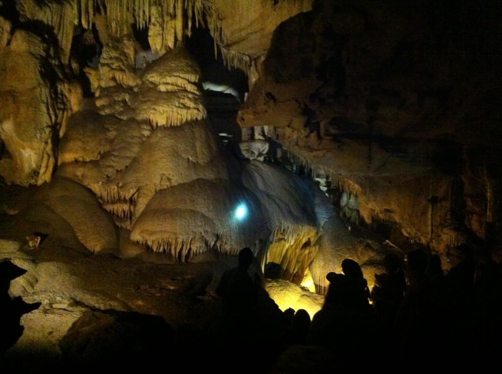 Inside Crystal Cave