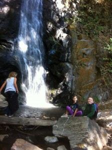 Another waterfall near Crystal Cave