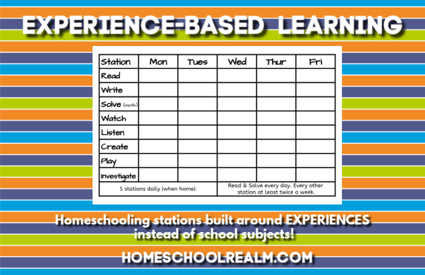 Experience-based learning