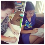 Journaling about their activities