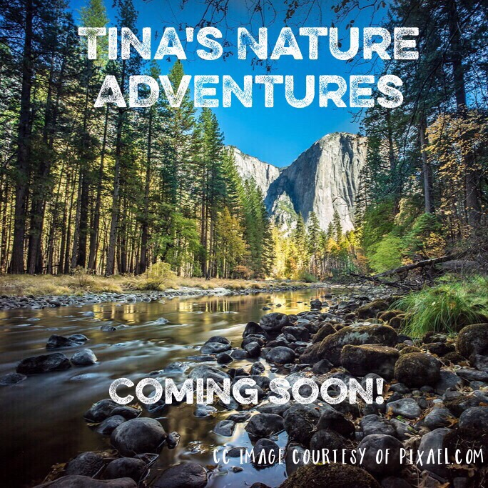 Tina's Nature Adventures are coming!!