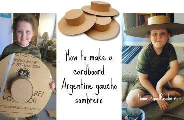 An Argentina craft tutorial: How to make a gaucho sombrero