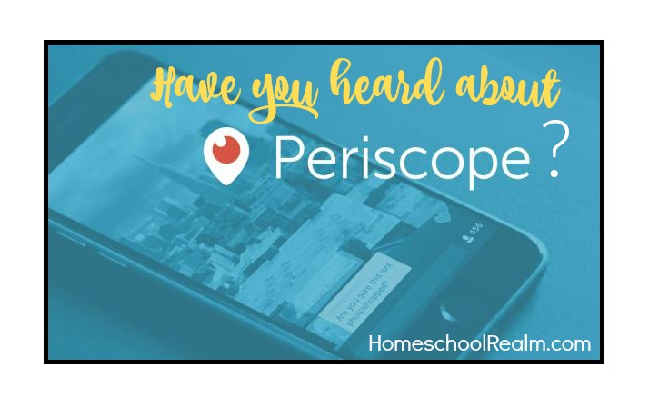 Have you heard about Periscope?