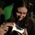 My daughter...s'mores!