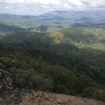 View from the hermit's sky trail