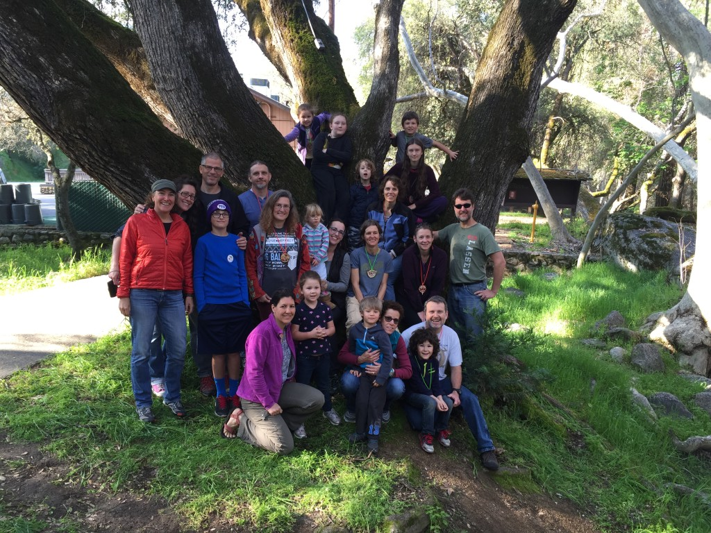 2016 SCICON Reunion: Some of the 1990s interns and staff and families