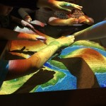 Augmented reality sandbox in the museum
