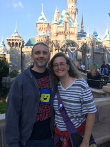 Hubby & I at the Magic Kingdom last week