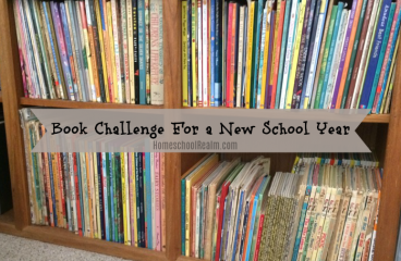 Book Challenge for a New School Year